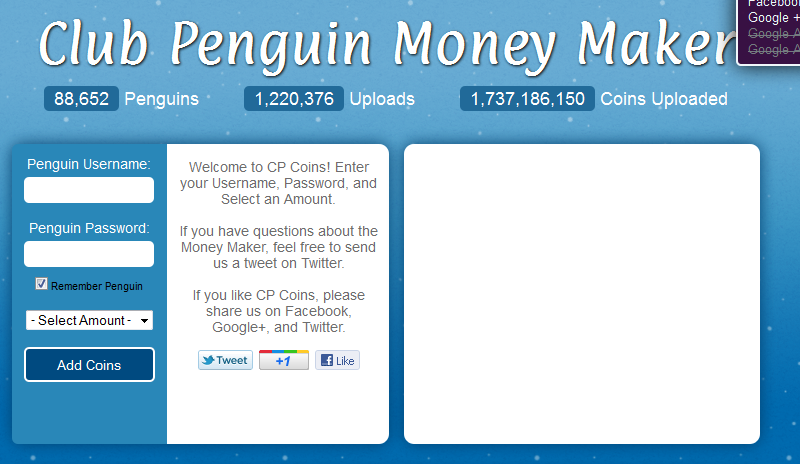 club penguin money maker Club Penguin Money Maker 2013
