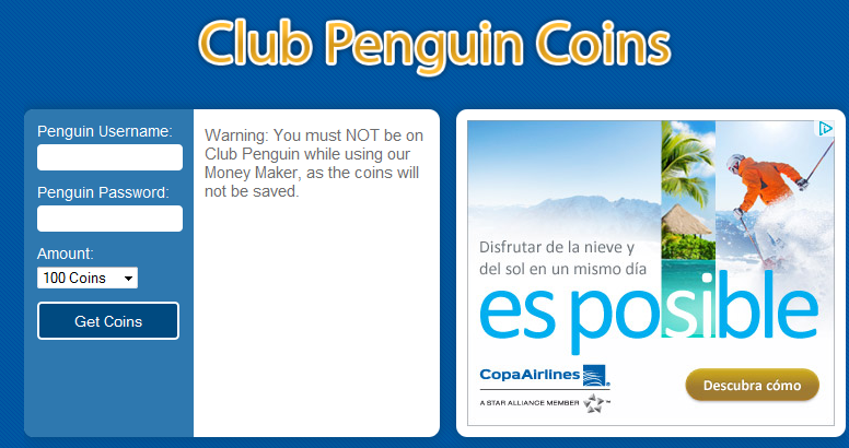 paso1 e1347065656712 Money Maker 2012 Diciembre Club Penguin