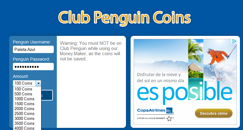 paso2 e1347065760315 Money Maker 2012 Diciembre Club Penguin