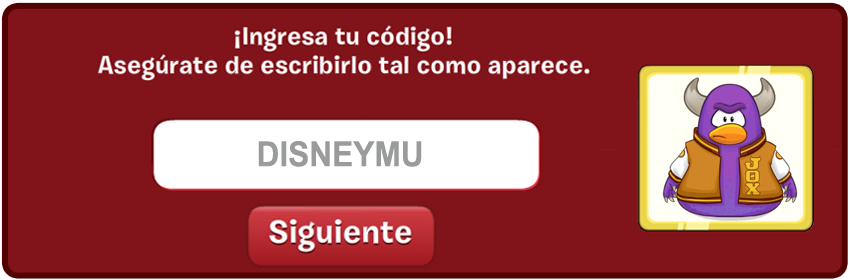 disneymonster Codigos de Club Penguin 2014