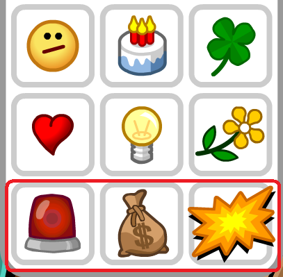 Club Penguin: Nuevos Emoticonos