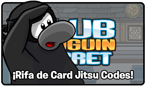 card jitsu codes e1370706197194 ¡Codigos de Club Penguin! ¡Rifa de 6 Card Jitsu Codes!