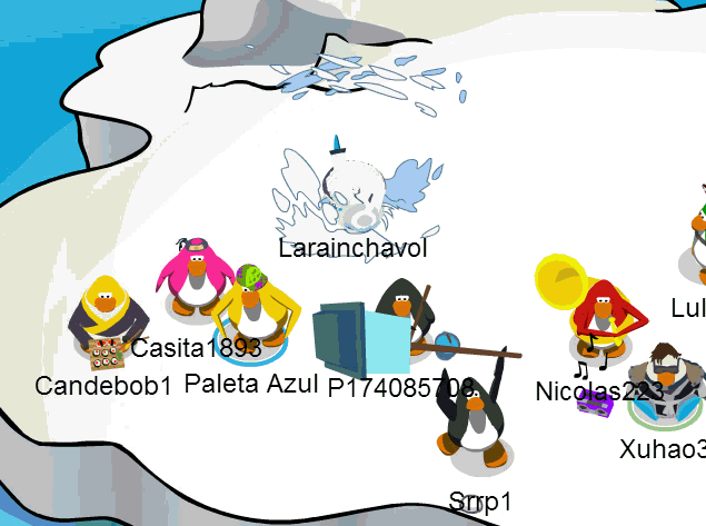 movimientos Trucos de Club Penguin 2014 Julio agosto