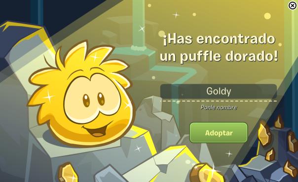 goldy es mi puffle