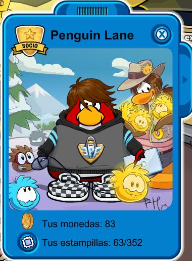 penguin lane palyecard